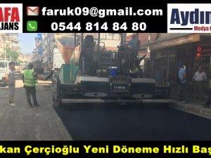Başkan Çerçioğlu Yeni Döneme Hızlı Başladı