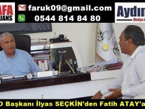 AYBAKO Başkanı İlyas SEÇKİN'den Fatih ATAY'a Ziyaret