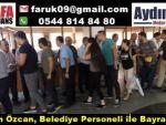 Başkan Özcan, Belediye Personeli iİe Bayramlaştı