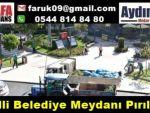 Nazilli Belediye Meydanı Pırıl Pırıl