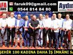 BÜYÜKŞEHİR 100 KADINA DAHA İŞ İMKÂNI SAĞLADI