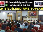 KVKK BİLGİLENDİRME TOPLANTISI