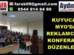 KUYUCAK MYO'DA REKLAMCILIK KONFERANSI DÜZENLENDİ