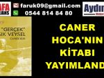 CANER HOCA'NIN KİTABI YAYIMLANDI