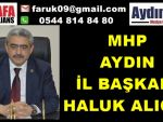 MHP Aydın Regaip Kandili Açıklaması