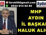 MHP Aydın Kurban Bayramı Mesajı