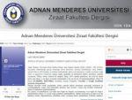 Ziraat Fakültesi Dergisi Online Erişim ile Bilim İnsanlarına Sunuldu