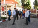 Başkan Özcan personeli ile bayramlaştı