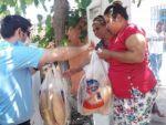 Nazilli Vefa Sosyal Destek Grubu bayramda da vatandaşın yüzünü güldürdü