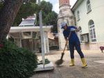 Söke Belediyesi'nden Camilerde Cuma Temizliği