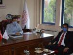 ADÜ Rektörü, İl Kültür ve Turizm Müdürü Tuncer'i Ziyaret Etti