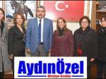 Cumhuriyet Kadınları Haluk Alıcık'ı Ziyaret Etti