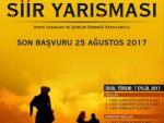 'EFELER VE EFELİK' ŞİİR YARIŞMASI DÜZENLENECEK