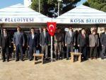Köşk Recep Tayyip Erdoğan Meydanın'da 19 Ekim Muhtarlar Günü Kutlandı.