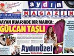 Aydın Magazin Gazetesi Yayın Hayatına Başladı.