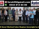Genel Merkez'den Başkan Çerçioğlu'na Ziyaret